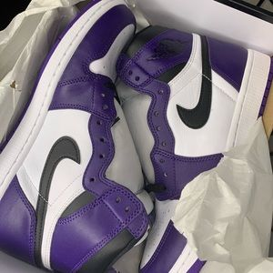 Air Jordan 1 Court purple white Retro High OG